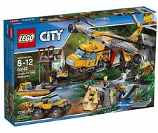 LEGO City Jungle Air Drop Helicopter Jungle Explorers Set 60162