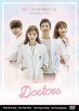 Doctors Korean Drama (4DVDs) Excellent English & Quality!