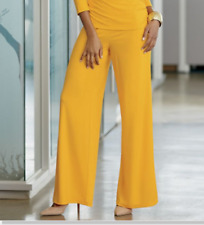 size 1X Rossi Wide Leg Pant Marigold by Ashro Everywhere Knits new