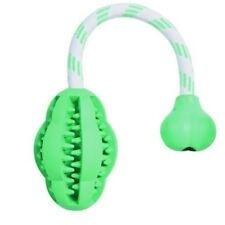 Trixie Natural Rubber Denta Fun Mintfresh Jumper On A Rope For Dog - Toy