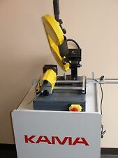 "KAMA 6"" CAP. DBL MITER & VERTICAL BANDSAW WITH 20 FREE BLADES OR FREE SHIPPING"