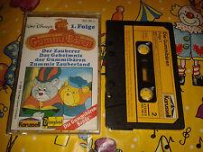 Die Gummibären Bande Kassette MC Folge 1 Der Zauberer - Gummi Bears Walt Disney