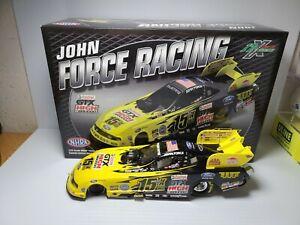 2011 John Force 15X Champion Ford Mustang 1:24 NHRA Funny Car Die-Cast MIB
