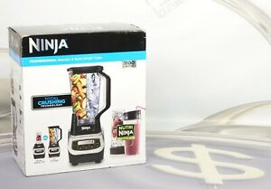 Ninja BL621 Professional 72-Oz. Blender 1100w - Black Silver BL621 New