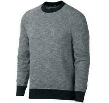 Men NIKE SB Everett Long Sleeve Sweater Skateboarding Grey - 938345 010 / 355