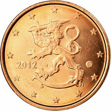 [#701937] Finland, 2 Euro Cent, 2012, UNC-, Copper Plated Steel, KM:99