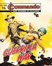 Commando For Action & Adventure Comic Book Magazine #1633 GUERRILLA WAR