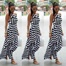 Fashion Women Summer Dress Boho Maxi Long Evening Party Dress Sundress