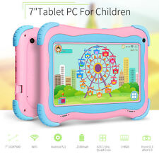 """7"""" inch Quad Core HD Tablet for Kids Android 5.1.X Lollipop Dual Camera WiFi"""