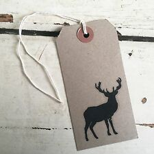 Dovecraft Clear Cling Stamp Stag - Stamps Stationery Christmas Reindeer UK MADE