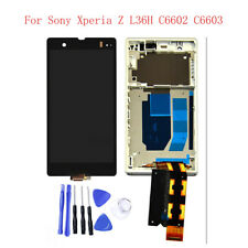 Professional LCD Display Touch Screen Digitizer Assembly for Sony Xperia Z L36H