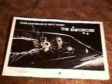 ENFORCER 22X28 MOVIE POSTER 1977 CLINT EASTWOOD