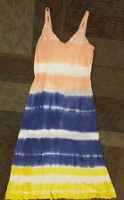 Anthropologie Romeo And Juliet Couture Size large Maxi tie dye dress