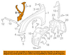 AUDI OEM 11-16 A8 Quattro-Fender Mounting Bracket Left 4H0821135E