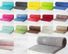 Thick Fluffy Large Bath Sheets Luxury Soft Egyptian Cotton 500 GSM Sateen Border