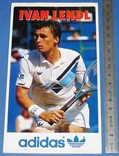 TENNIS IVAN LENDL ADIDAS GRAND SLAM TOURNAMENT WIMBLEDON ROLAND-GARROS US OPEN