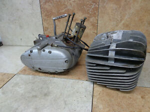Rickman ZUNDAPP 125 Six-Day ENGINE Core Needs rebuild Vintage Motocross Racer