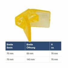 Bugpuffer BxH: 76 x 76 mm für Bootstrailer Zubehör Bootsanhänger transparent