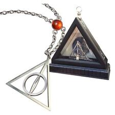 Official Harry Potter Xenophilius Lovegood Necklace with Case - Deathly Hallows