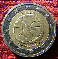 Ireland 2 Euro 2009 coin Commemorative EMU, defect stars and date