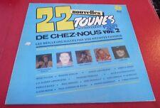 LP vinyl Album 22 Nouvelles Tounes de Chez Nous Vol.2 !  K-Tel Canada Records