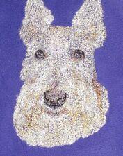 Embroidered Ladies Fleece Jacket - Scottish Terrier AED16413 Sizes S - XXL