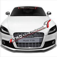 Car Windshield Front Rear Vinyl Banner Decal Sticker For TRD Racing Development
