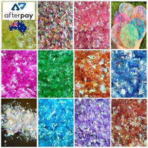 5g Iridescent Mylar/Glitter Flakes Chunky/Fine Mix 11 Colours Resin Nail Art