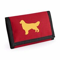 Golden Retriever Wallet Rip-Stop Colour Choice Purse Birthday Retriever Purse