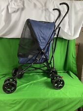 Pet Gear Travel Lite Plus Navy Blue Stroller For Pets Up To 15 Lbs