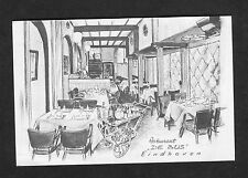 "c1970s Illustrated View of Inside the Restaurant ""De Bus"" Eindhoven, Holland"