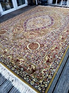 X Large John Lewis super keshan Persiian Turkish Rug Carpet 310cm by 205cm