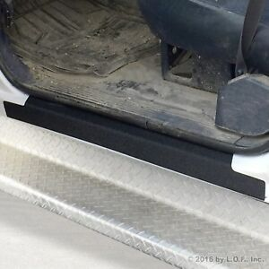 1988-98 fits Chevy GMC C/K Regular Cab 2pc Door Sill Protect Threshold Step Pads