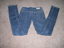 Women C Pink Brand Denim Blue Jeans Stretch Slim Fit Junior SiZe 1 EUC!!!