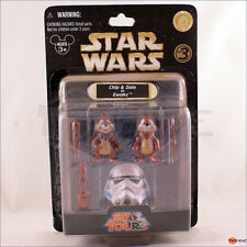 Disney Star Wars Chip and Dale as Ewoks Star Tours Figures series 3 Figure