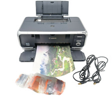 Canon PIXMA IP4000 Digital Photo Inkjet Printer with New Ink and USB Cable