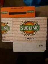 Vintage 90s Sublime Hard Tangeria 6 Pack Container