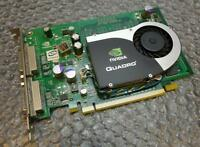 256MB HP Quadro FX370 PCI-e Dual Head DVI Graphics Card 456136-001 454318-001