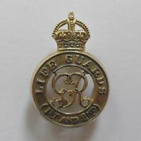 BRITISH ARMY CAP BADGE. THE 1st. and 2nd. LIFE GUARDS.