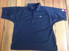 McDonalds Uniform Employee Shirt Small S Black 100% Polyester Apparel Collection