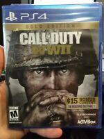 Call of Duty: WWII Gold Edition PS4 New PlayStation 4,PlayStation 4