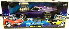 Muscle Machines 1:18 Echelle '70 Plymouth Cuda - Rare Hot Violet - Tout Nouveau