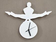 Gymnastics Silhouette 4 - Wall Clock