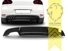Heckansatz Heckspoiler Diffusor für VW Golf 6 Limousine Sport Optik GTi Optik