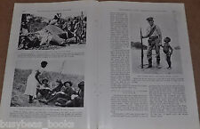 1922 magazine article on WWI British Navy Expedition in Africa, Lake Tanganyika