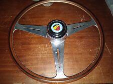 Raro Volante Nardi Fiat abarth 595 695 doppia gobba ZAGATO bialbero steering