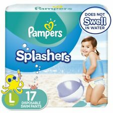 Pampers Splashers Disposable Swim Pants Diapers Pool Large