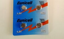 EUNICELL - 4 Piles Bouton  AG3/392/LR41/SR41SW