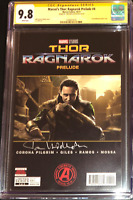 Marvel's Thor Ragnarok Prelude #4 photo cover_CGC 9.8 SS_Signed Tom Hiddleston