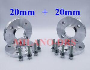RUOTA in lega 16 mm Hubcentric Distanziatori KIT 4x100 60.1 mm per RENAULT MEGANE MK1 MK2